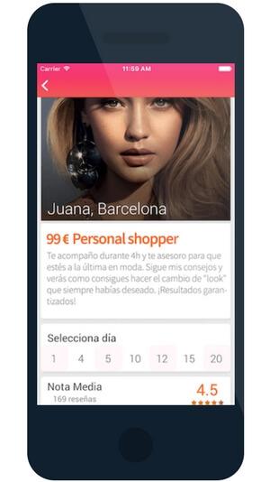 Aplicació mòbil per a un client de Girona sobre treballadors